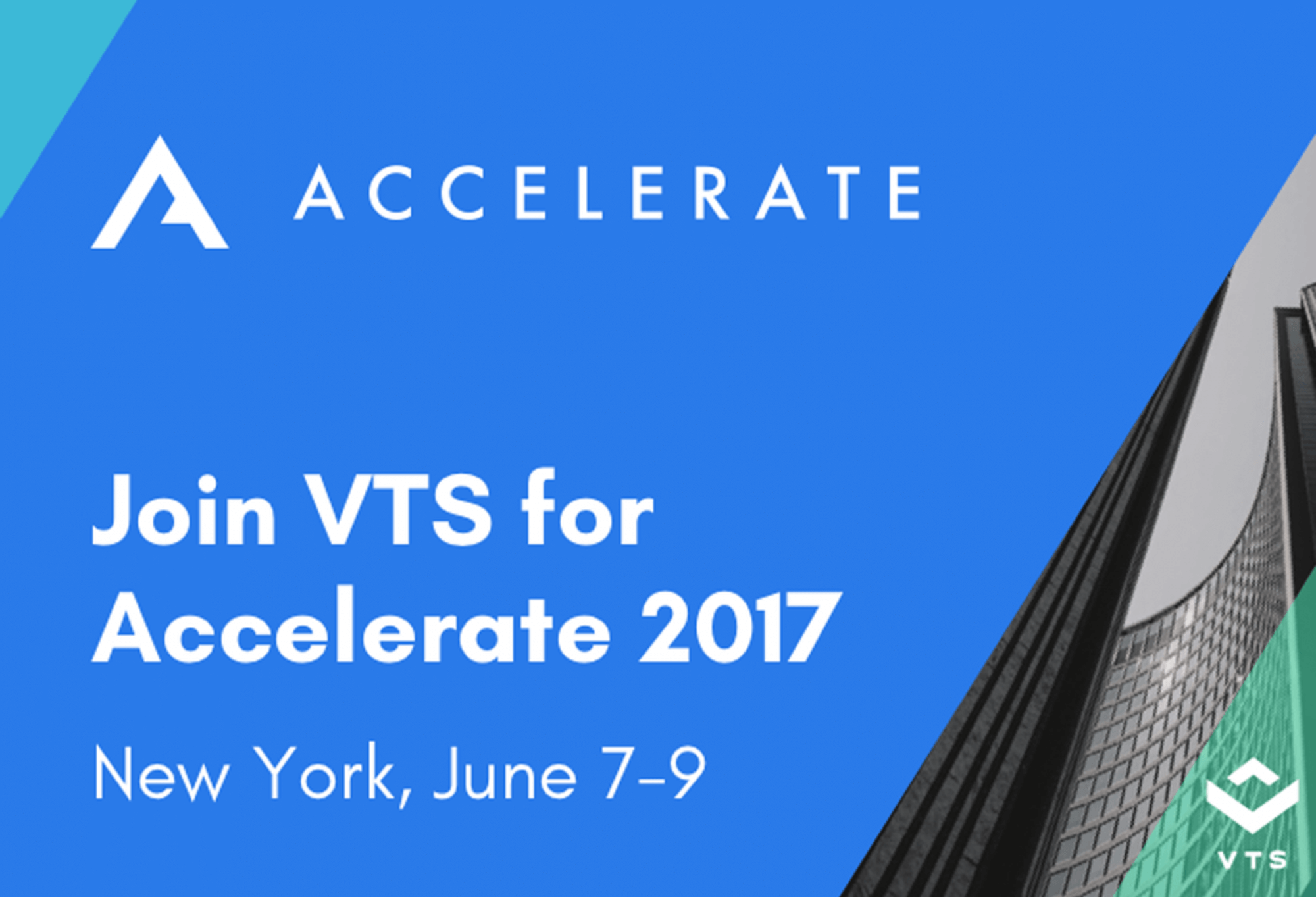 VTS 2018 Accelerate conference